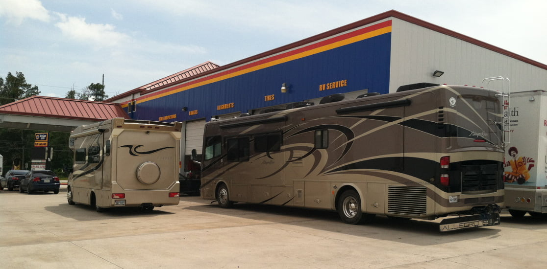 RV services and repairs